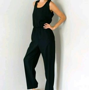 Virgo Jumpsuit 8 Black Sleeveless